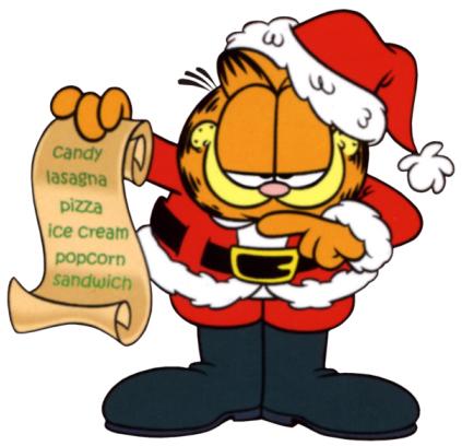 Garfield Santa
