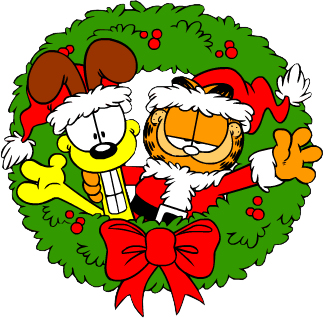 Garfield wreath